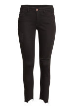 Super Skinny Ankle Jeans - Black denim - Ladies | H&M 2